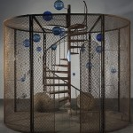 Louise Bourgeois, Cell (The Last Climb), 2008, Collection National Gallery of Canada, Ottawa, Foto Christopher Burke © The Easton Foundation / VG Bild-Kunst, Bonn 2015