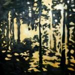 Le vol du temps III 2016 Öl auf Holz 84,1 x 118,9 cm © Julia Marie Stolba